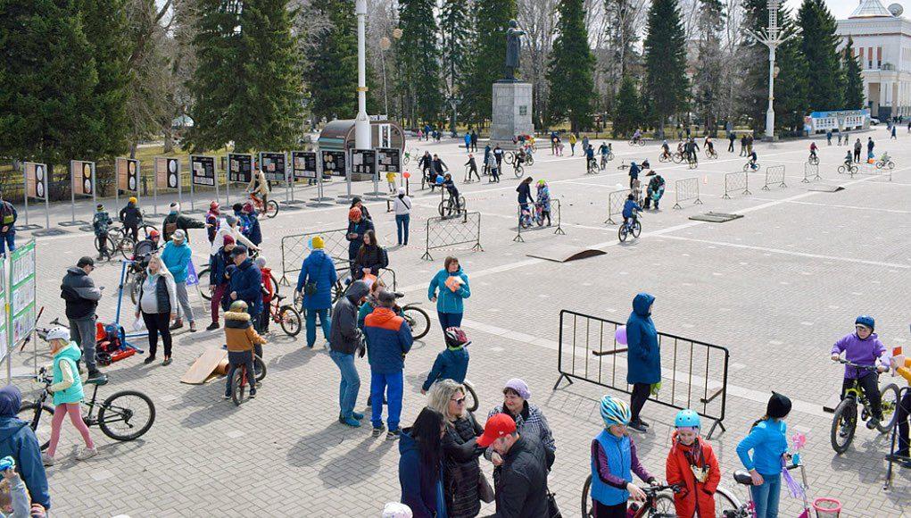 Велосипедный фестиваль прошел в Горно-Алтайске