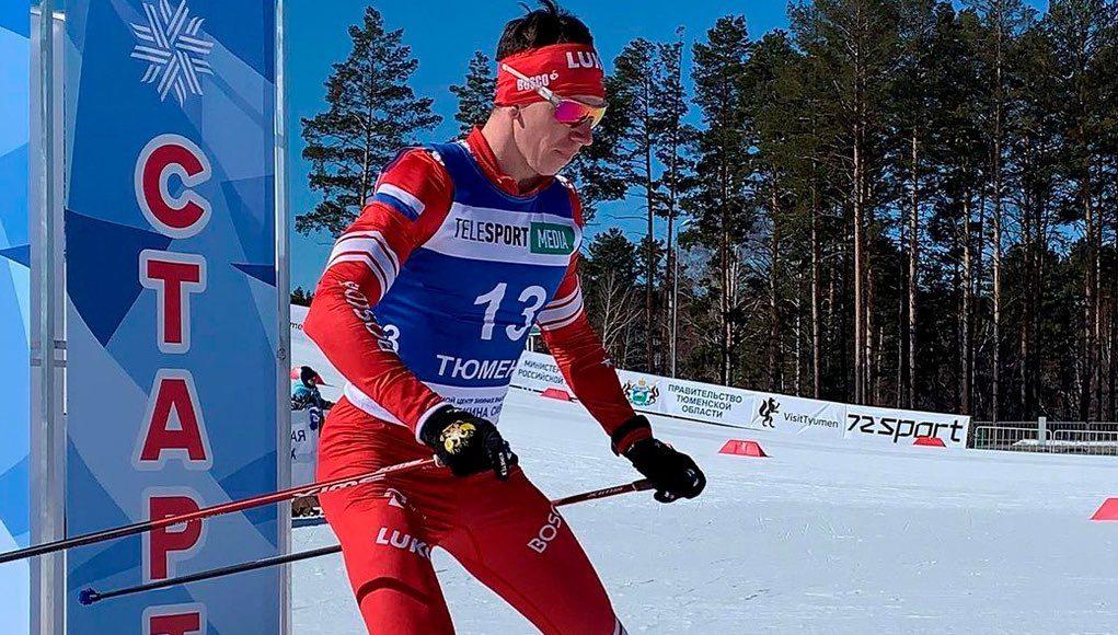 Андрей Собакарев стал бронзовым призером чемпионата России в лыжном марафоне