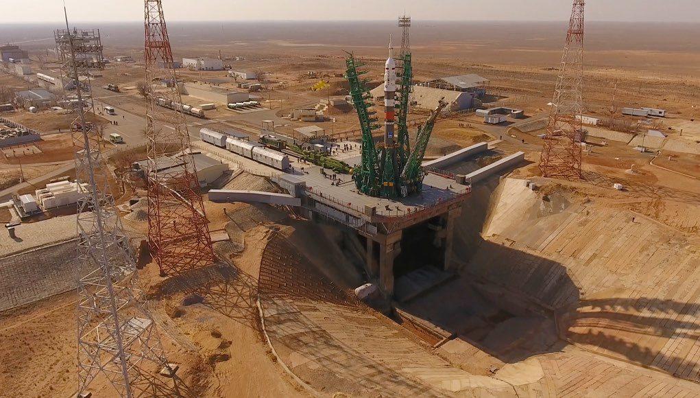 9 апреля с Байконура стартует космический корабль «Ю.А. Гагарин». Обломки ракеты могут упасть на Алтае
