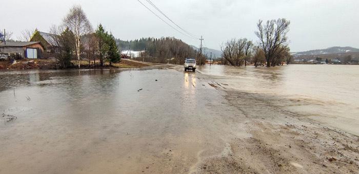 Паводковая ситуация в Республике Алтай по состоянию на утро 1 мая