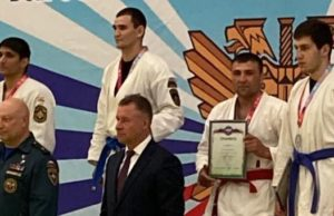 Пожарный из Горно-Алтайска стал призером Кубка МЧС России