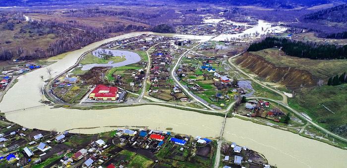 Паводковая ситуация в Республике Алтай по данным на 2 мая