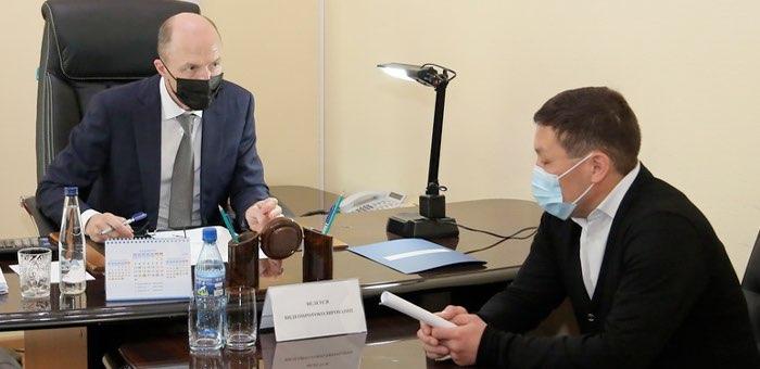 Олег Хорохордин провел прием граждан