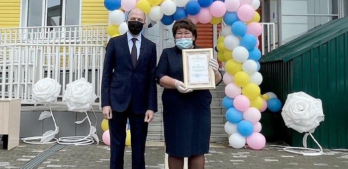 В Усть-Коксе открыт детсад «Радуга»