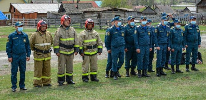 В Бичикту-Бооме открыли отдельный пожарный пост