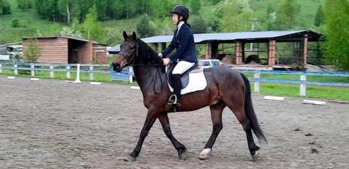 В Горно-Алтайске прошли соревнования по конному спорту