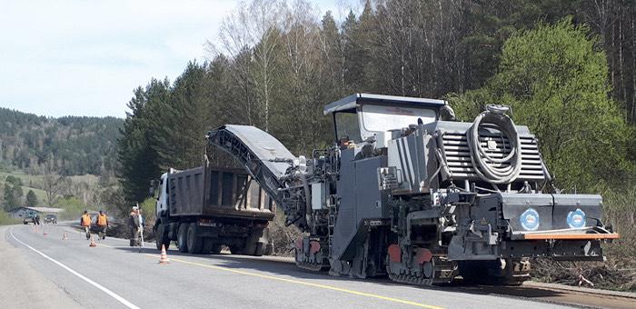 В этом году дорожники отремонтируют 24 км Телецкого тракта