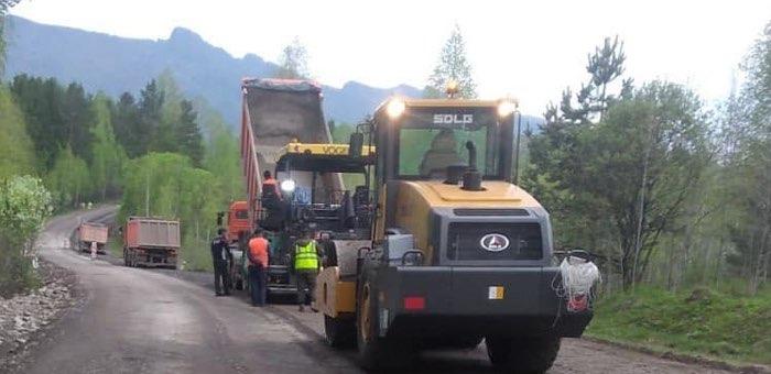 Начался ремонт дороги, связывающей Турочак с Алтайским краем