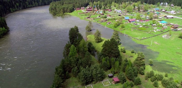 Паводковая обстановка в Республике Алтай