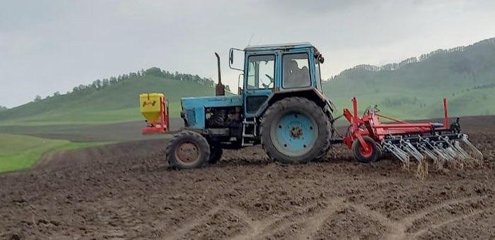 В Шебалинском районе завершаются весенне-полевые работы