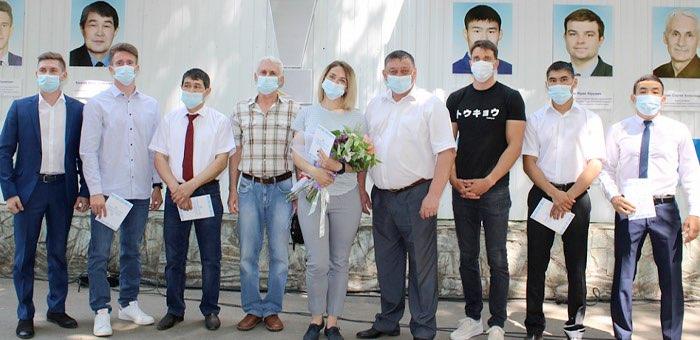 Доску почета «Спортивная честь и слава Горно-Алтайска» обновили в городе
