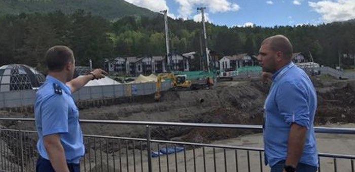 Круглосуточное строительство на курорте «Манжерок» возмутило местных жителей