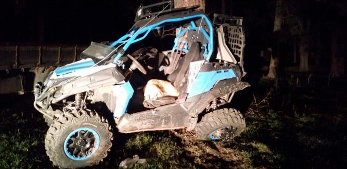 В Чемале ночью перевернулся снегоболотоход, водитель погиб