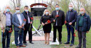 У Ресбольницы открыли мемориал медикам, погибшим в Великой Отечественной войне