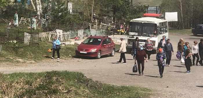 График движения автобусов в Родительский день в Горно-Алтайске