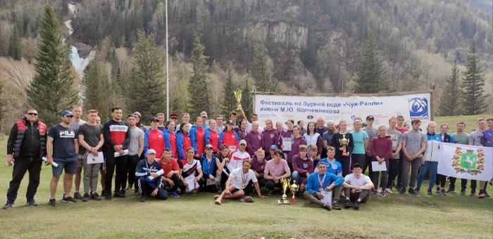 На соревнованиях на бурной воде «Чуя-Ралли» победу одержали спортсмены ГАГУ