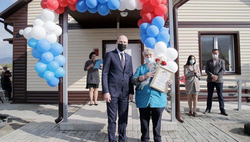 В Огневке открыли новый ФАП