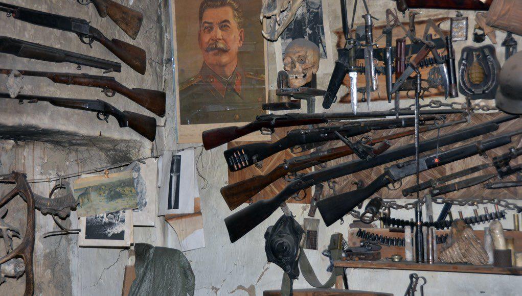 В Яйлю обнаружена подпольная оружейная мастерская, изъято более 20 «стволов»