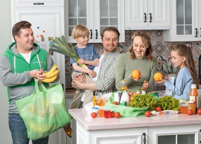 СберМаркет начал доставлять товары из супермаркета «Магнит» всего за 2 часа
