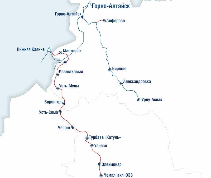 Началось проектирование газопроводов к 14 селам Майминского и Чемальского районов