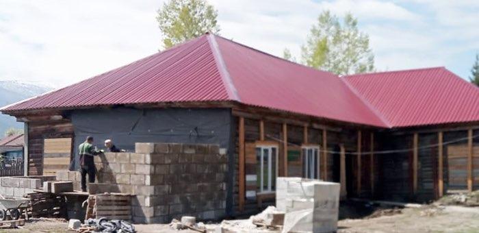 В Катанде ведется капитальный ремонт дома культуры