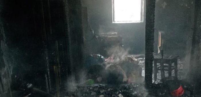 По факту гибели трех малолетних детей при пожаре в Аносе началась проверка