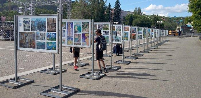 Открылась выставка о том, как небольшое село превратилось в столицу республики