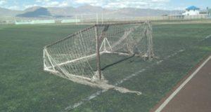 Дело об упавших футбольных воротах: участкового обвиняют в злоупотреблении