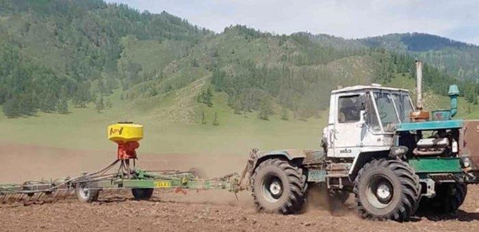 В Онгудайском районе завершаются весенне-полевые работы