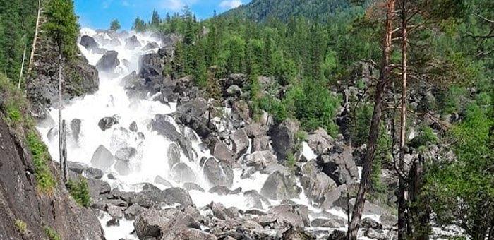 Водопад Учар в Алтайском заповеднике вновь открыт для посещения