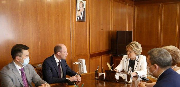 Председатель Совета Федерации провела встречу с руководством Республики Алтай