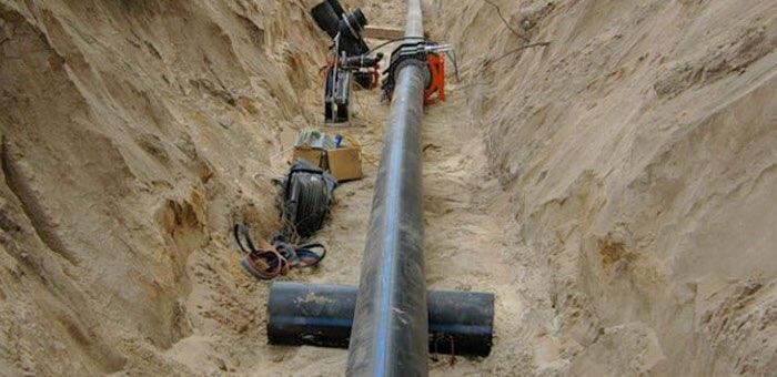 «Водоканал» при строительстве противопожарного водопровода повредил газопровод