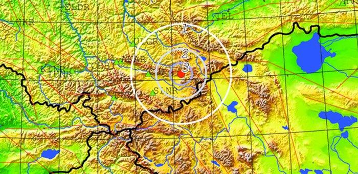 В Кош-Агачском районе произошло землетрясение