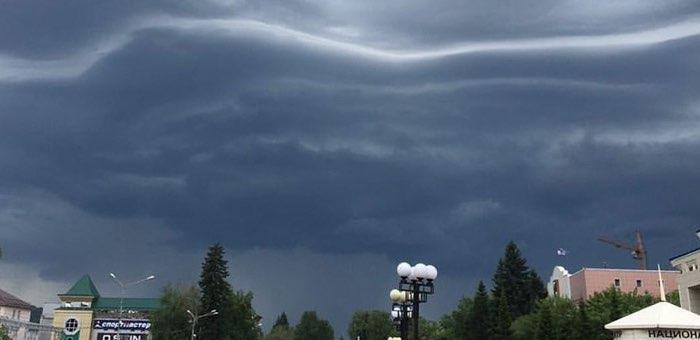 Штормовое предупреждение на 4 и 5 июня: ливни, грозы, град, подъем воды в реках и озерах
