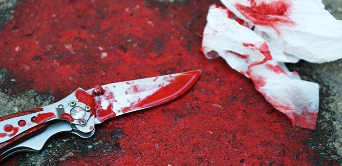 19 ударов ножом: неоднократно судимый житель Маймы зверски убил знакомого на почве ревности