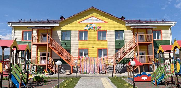 В Турочаке открылся новый детский сад