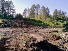 Завершена очистка и рекультивация карьера на месте строительства парка-музея «Верхний Барангол»