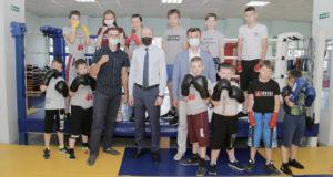 Глава региона ознакомился с работой спортивного клуба «Вымпел» в Турочаке
