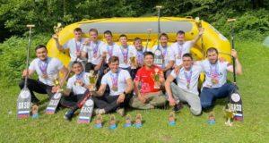 Команда из Горного Алтая стала чемпионом России по рафтингу