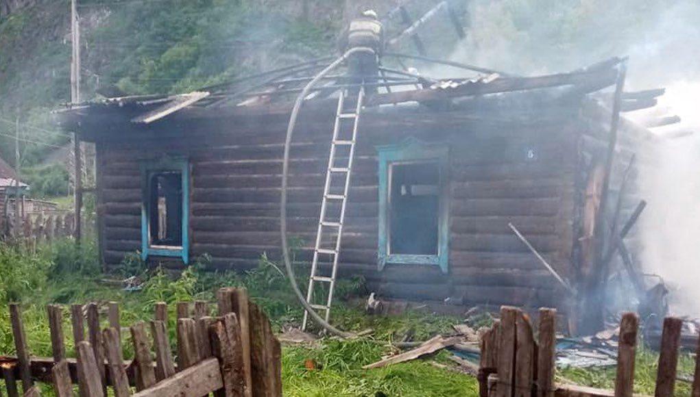 Пожар в Аносе