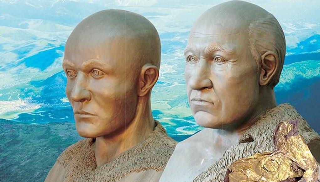 Ученые восстановили внешность двух мужчин-пазырыкцев