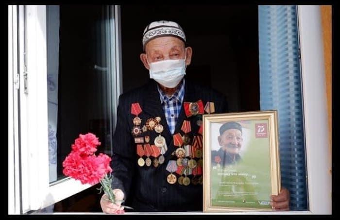 Ушел из жизни ветеран Великой Отечественной войны Джума Байгонаков