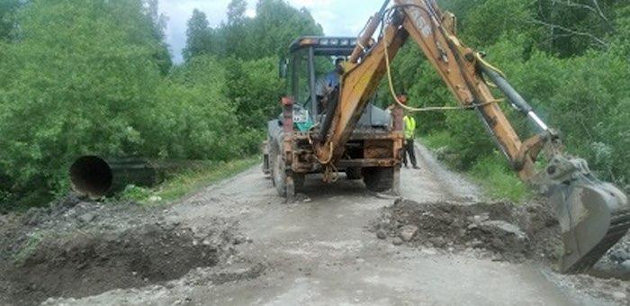 Ремонт дороги Тулой – Бийка начался в Турочакском районе