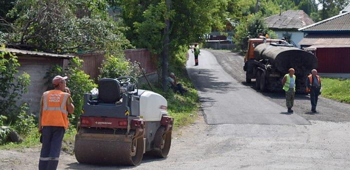 Каясинскую улицу ремонтируют в Горно-Алтайске