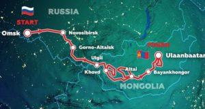 3 июля Горно-Алтайск посетят участники международного ралли «Шелковый путь»
