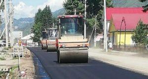 Дорожники ремонтируют подъезд к Онгудаю