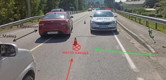 В Соузге УАЗ Патриот сбил пешехода