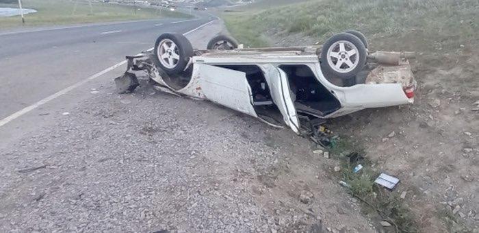 Нетрезвый водитель без прав «потерпел крушение» возле Шашикмана, пассажир в реанимации