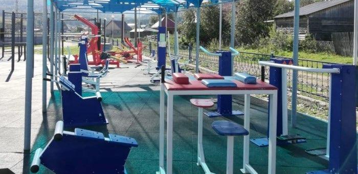 В Турочаке сделают спортплощадку для сдачи комплекса ГТО