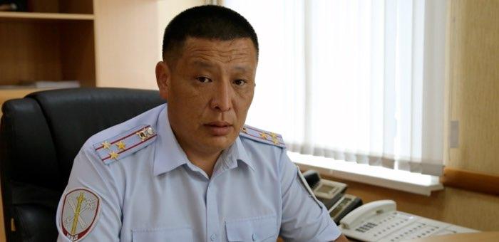 Отдел МВД по Майминскому району возглавил Айсур Тепуков